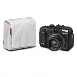 Detail produktu - Manfrotto STILE SCP-5SW NANO, pouzdro na kompaktní fotoaparát vel.5, bílá