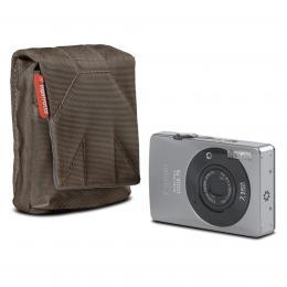 Detail produktu - Manfrotto STILE SCP-BC NANO, pouzdro na kompaktní fotoaparát vertical, olivově hnědá