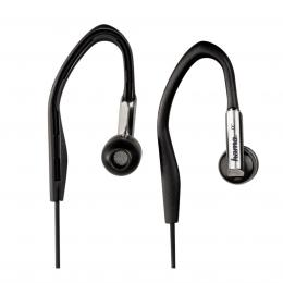 Detail produktu - Hama sluchátka HK-280, silikonové špunty Clip-On, černá