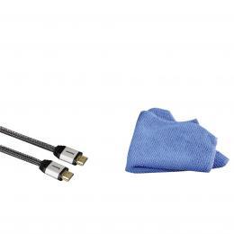 Detail produktu - Hama TV set  HDMI kabel s utěrkou