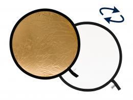 Detail produktu - Lastolite Collapsible Reflector 30cm Gold/White (LR1241)