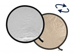 Detail produktu - Lastolite Collapsible Reflector 75cm Sunlite/Soft Silver (LR3028)
