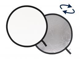 Detail produktu - Lastolite Collapsible Reflector 75cm Silver/White (LR3031)