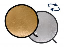 Lastolite Collapsible Reflector 1.2m Silver/Gold (LR4834)