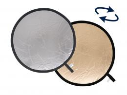 Lastolite Collapsible Reflector 1.2m Sunfire/Silver (LR4836)
