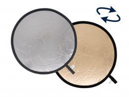Detail produktu - Lastolite Collapsible Reflector 1.2m Sunfire/Silver (LR4836)