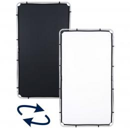 Lastolite Skylite Rapid Fabric Medium 1.1 x 2m Black/White (LR81221R)