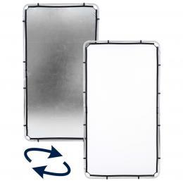 Detail produktu - Lastolite Skylite Rapid Facric Medium 1.1 x 2m Silver/White (LR81231R)