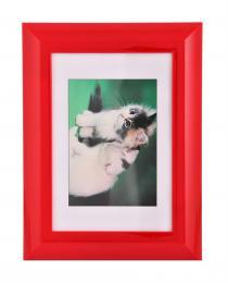 Detail produktu - Hama rámeček plastový PALMA, červený, 10x15cm