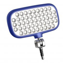 METZ MECALIGHT LED-72 smart blue, LED svìtlo pro smartphony a tablety - barva modrá