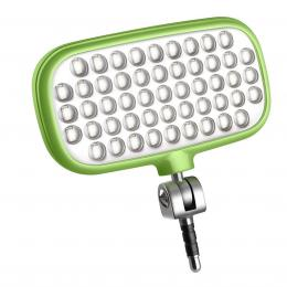 METZ MECALIGHT LED-72 smart green, LED svìtlo pro smartphony a tablety - barva zelená