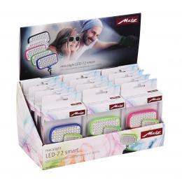 Metz svìtlo LED-72 pro smartphony a tablety box 12 ks mix barev - zvìtšit obrázek