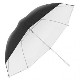 Metz studiový deštník UM-100 èerná/bílá dvouvrstvý 100cm - zvìtšit obrázek