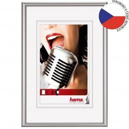 Detail produktu - Hama rámeček hliníkový CHICAGO, stříbrný, 13x18cm