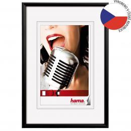 Detail produktu - Hama rámeček hliníkový CHICAGO, černý, 13x18cm