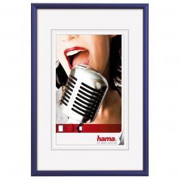 Detail produktu - Hama rámeček hliníkový CHICAGO, modrý, 13x18cm