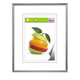 Hama rámeèek plastový SEVILLA, støíbrná, 29,7x42 cm, prùhledný plast