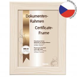 Hama rámeèek døevìný RIGA, bílý, 21x29,7cm