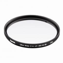 Hama filtr UV 390/0-HAZE Ultra Wide, 58,0 mm, C14 zušlechtìní, èerný