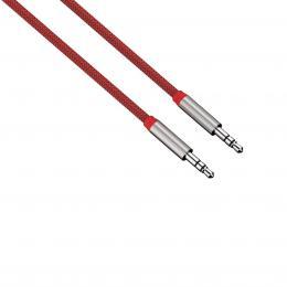 Detail produktu - Hama audio kabel jack-jack Color Line, 1 m, červený
