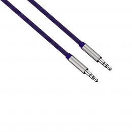 Detail produktu - Hama audio kabel jack-jack Color Line, 1 m, modrý