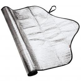 Detail produktu - Hama Automotive Ice/Sun Shade for the Windscreen, 200 x 80 cm, silver