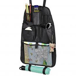 Detail produktu - Hama organizér do auta s kapsou pro CD přehrávač, barva černá