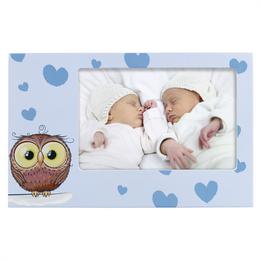 Hama portrétový rámeèek OWL ELIA, modrý, 10x15 cm