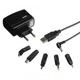 Detail produktu - Hama univerzální cestovní nabíječka pro GPS, 6 konektorů