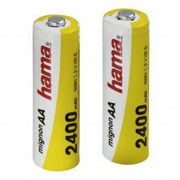 Detail produktu - Hama akumulátor NiMH Ready4Power, 2x AA, 2400 mAh