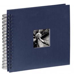Detail produktu - Hama album klasické spirálové FINE ART 28x24 cm, 50 stran, modré