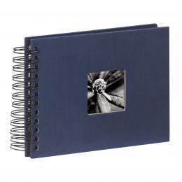 Detail produktu - Hama album klasické spirálové FINE ART 24x17 cm, 50 stran, modré