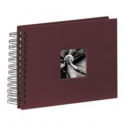 Detail produktu - Hama album klasické spirálové FINE ART 24x17 cm, 50 stran, bordó