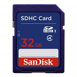 Detail produktu - SanDisk Standard SDHC Card 32 GB