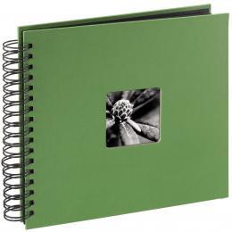 Detail produktu - Hama album klasické spirálové FINE ART 28x24 cm, 50 stran, jablečná zeleň
