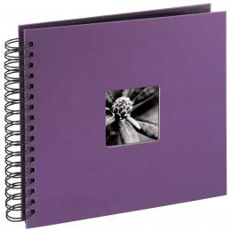 Hama album klasické spirálové FINE ART 28x24 cm, 50 stran, lila