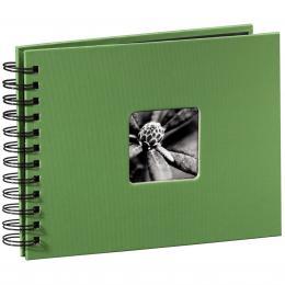 Detail produktu - Hama album klasické spirálové FINE ART 24x17 cm, 50 stran, jablečná zeleň