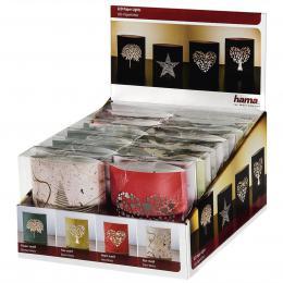 Detail produktu - Hama papírové LED svítidlo, 12 ks v balení (cena uvedena za 1 ks)
