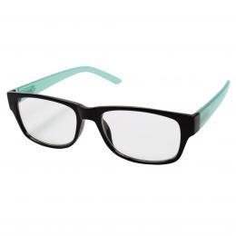 Filtral ètecí brýle, plastové, èerné/tyrkysové,  1.5 dpt