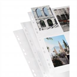 Detail produktu - Hama photo sleeves for ring-binder albums A4, White, 10x15 cm