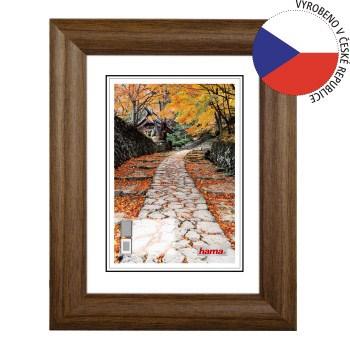 Hama 1253 rámeèek døevìný BIBIONE, korek, 15x20 cm